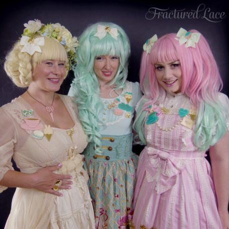 Fractured Lace - Creamy Sweets Collection