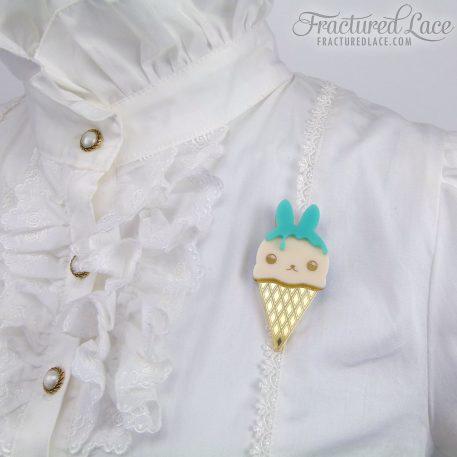 ice cream bunny mint 1