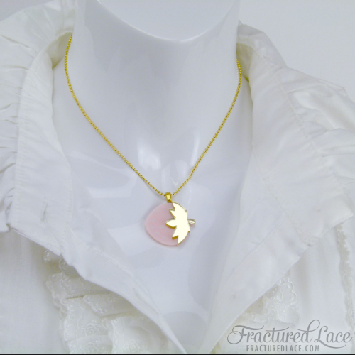 strawberry necklace - mid