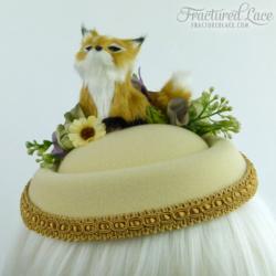 blonde fox front