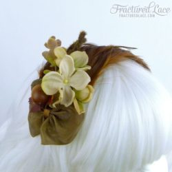 brown feathered fascinator-compressed