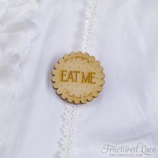 Eat Me Brooch (Alice's Adventures in Wonderland Inspired)