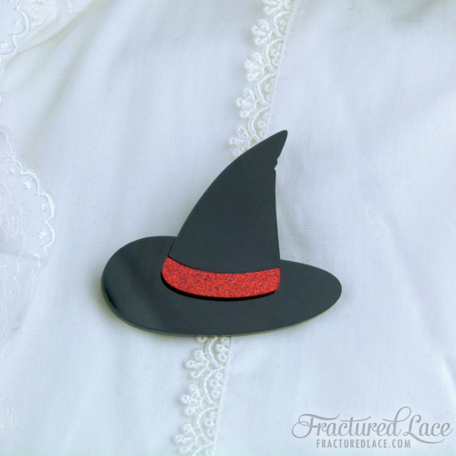Wicked Witch Hat Brooch - Wizard of Oz Inspired