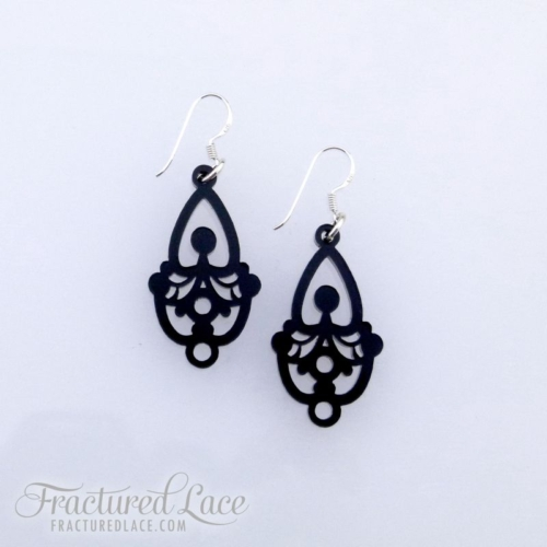 Snow White Fairest of All Earrings
