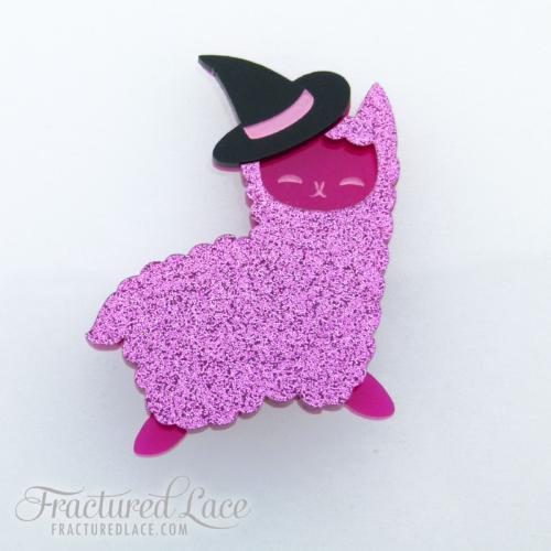 seasonal alpaca pink